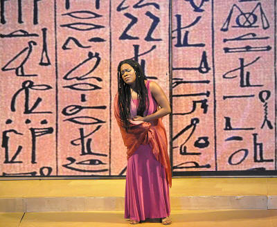Aida - Carami Hilaire - photo by George Schowerer