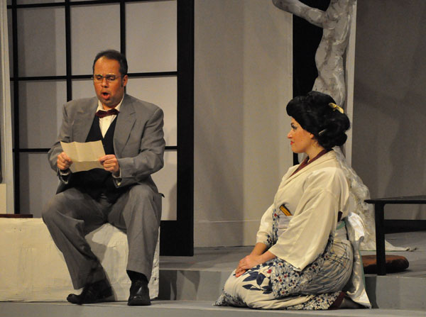 Madama Butterfly 2011 - Ricardo Rosa and Christina Rohm - photo by George Schowerer